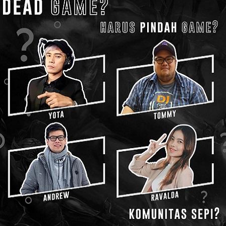Dead Game di Mata Yota, Andrew, Tommy & Ravalda