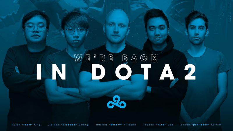 Kembali ke Ranah DOTA 2, Cloud9 Siap Rengkuh Prestasi