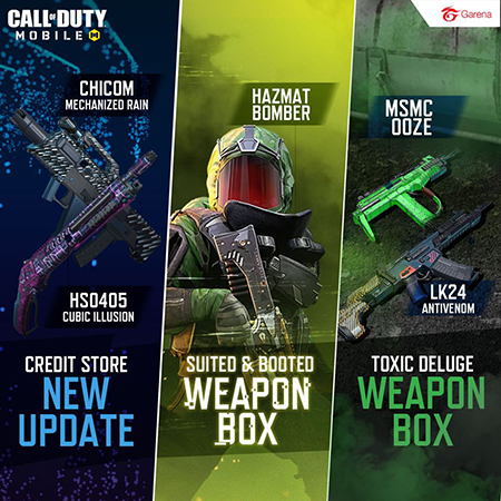 Ketahui Detail Update Call of Duty Mobile Season 7: Radioactive Agent!