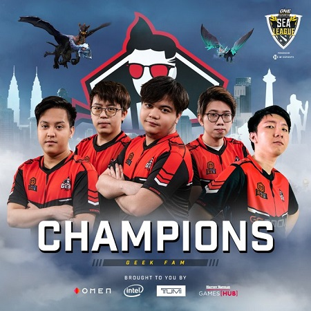 Xepher-Whitemon Antar Geek Fam Juara ONE Esports DOTA 2 SEA League