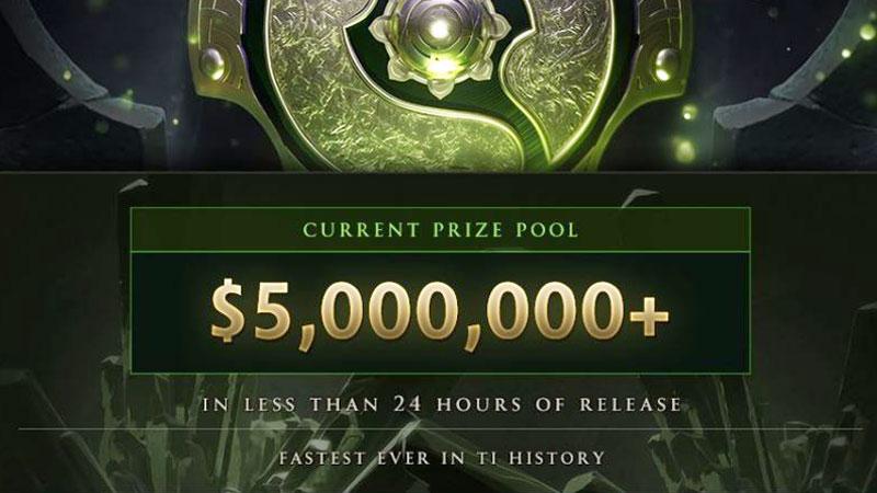 Hitungan 24 Jam, Prize Pool TI8 Capai 5 Juta Dolar AS!