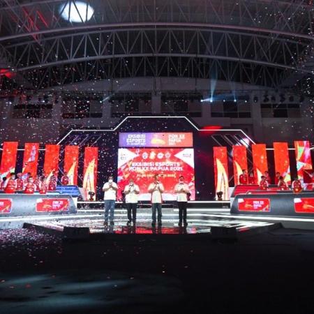 Ekshibisi Esports PON XX Papua 2021 Usai, Kekuatan Daerah Merata!