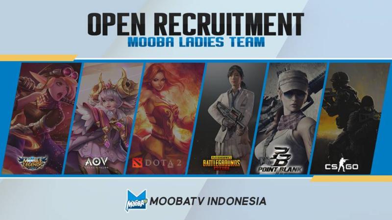 Melondoto Bentuk MOOBA Ladies Team, Tertarik?