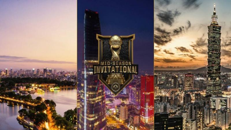 Vietnam & Taiwan, Destinasi Pilihan Riot untuk MSI 2019