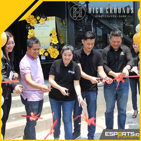 High Grounds Cafe Indonesia Hadir Bagi Publik & Gamer Muda