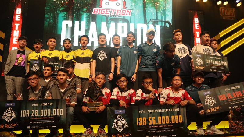 Tak Terbendung, Bigetron Juara di PMCO Indonesia 2019