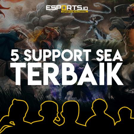 5 Support DOTA 2 Asal SEA yang Bisa Jadi Panutan