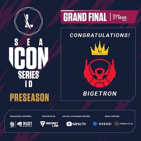 Bigetron Infinity Juarai Wild Rift SEA Icon Series: PreSeason Indonesia!