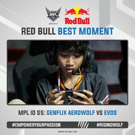 Acil Effect, Genflix Aerowolf Langsung Hempas EVOS di MPL Season 5