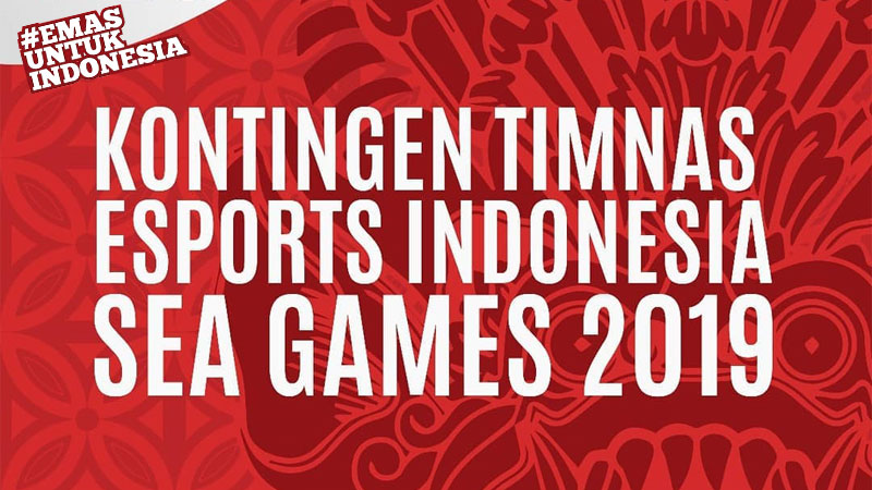 Kontingen Timnas Esports Indonesia di Sea Games 2019