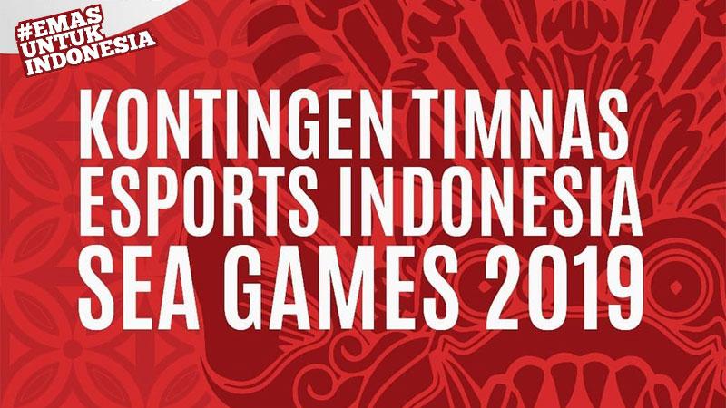 Kontingen Timnas Esports Indonesia di Sea Games 2019