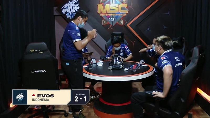 Sengit! EVOS Legends Kirim Execration ke Lower Bracket MSC 2021
