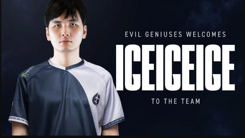 Resmi! Iceiceice Bakal Perkuat Tim DOTA 2 Evil Geniuses