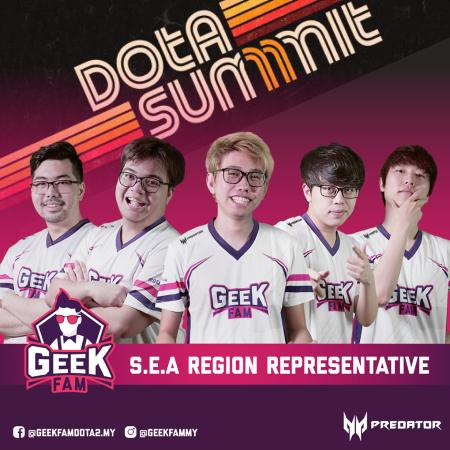Ceb Jagokan Geek Fam Rebut Gelar DOTA Summit 11!
