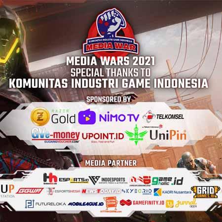 Perkuat Silaturahmi, Media Wars Season 3 PUBG M Sukses Digelar