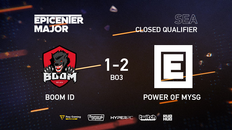 Kandas! BOOM ID Gagal Melenggang ke EPICENTER Major