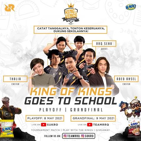 King of Kings Goes to School Series I Memasuki Babak Akhir!
