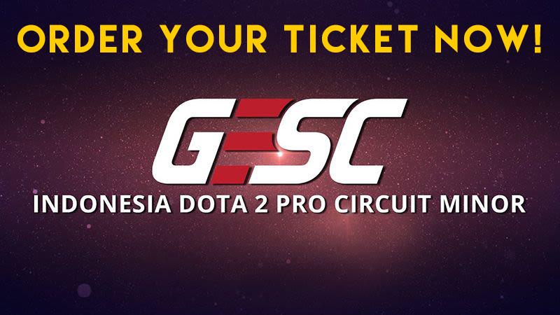 Penuhi Tuntutan Fans DOTA 2, Tiket GESC Indonesia Kembali Dijual