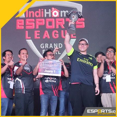 Berhasil Libas ELITE8, BOOM.ID Juara IndiHome eSports League!