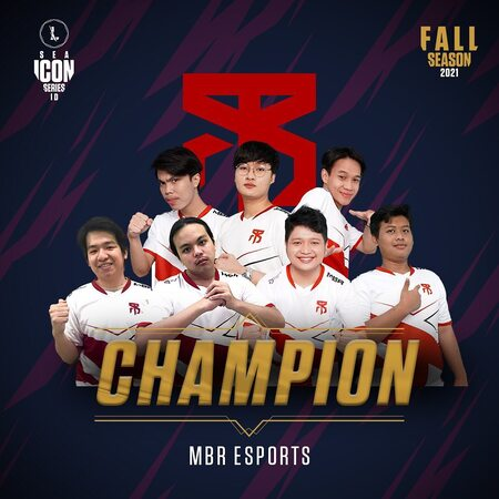 Tanpa Kalah! MBR Esports Juarai SEA Icon Series: Fall Season