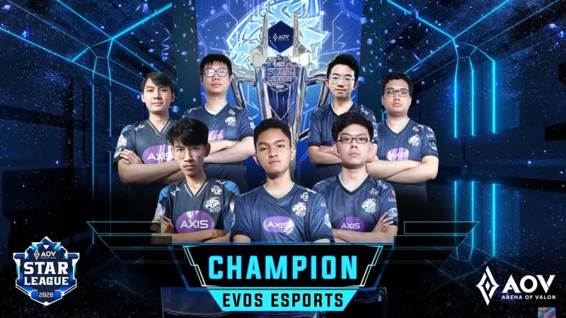 Kampiun ASL S4, EVOS Esports Masih Tim AOV Terbaik Indonesia!
