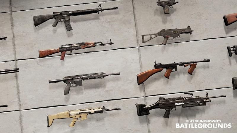 Kenali Pilihan Senjata Di PUBG Mobile untuk Pemula