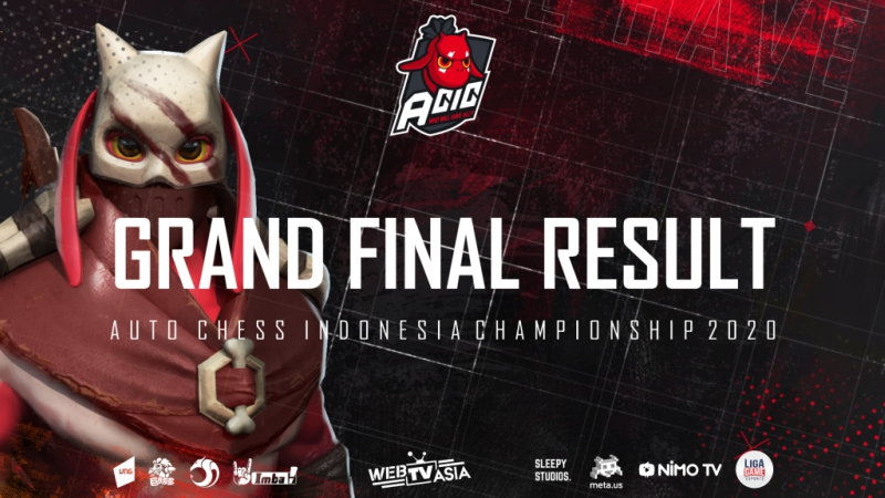 Total Prizepool 350 Juta, Berikut Jawara Grand Final ACIC 2020