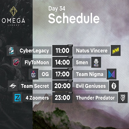 Duel Para Tim Raksasa DOTA 2 di Playoffs OMEGA League