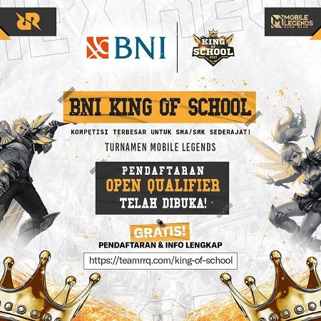 Diikuti 1024 Sekolah, Regional Qualifier BNI King of School Dimulai!