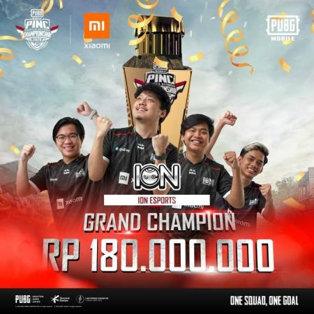 EVOS Gagal Pertahankan Gelar, ION Esports Jawara PINC 2020!