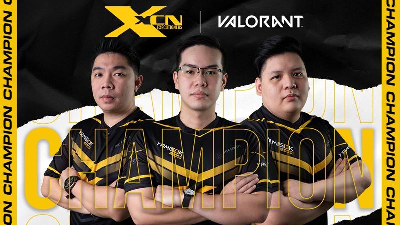 Gemilang, Tim XCN Gaming Borong Dua Trophy Valorant!