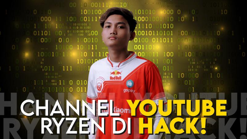 YouTube Ryzen Kena Serangan Hack, Oura Beri Pesan Ini!