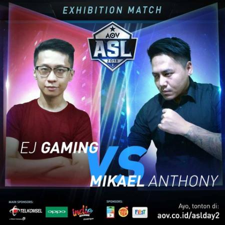 MOBA Kok Berantem? Gelut EJ Gaming vs Mikael Anthony di ASL 2018