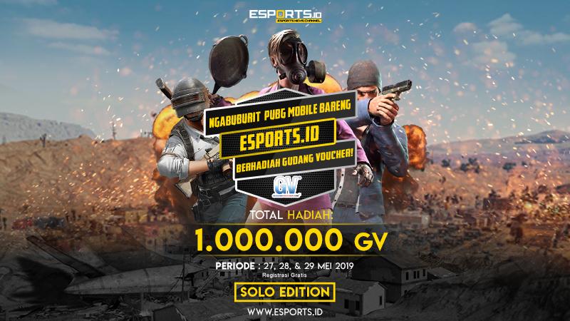 Ngabuburit PUBG Mobile Bareng Esports.ID Berhadiah 1.000.000 GV!