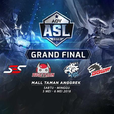 Grand Final ASL 2018 Siap Tayang, 4 Tim Berebut Slot Menuju Los Angeles!