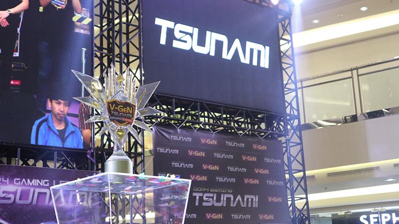 PG.BarracX dan XCN Berjaya di V-Gen Tsunami Esports League