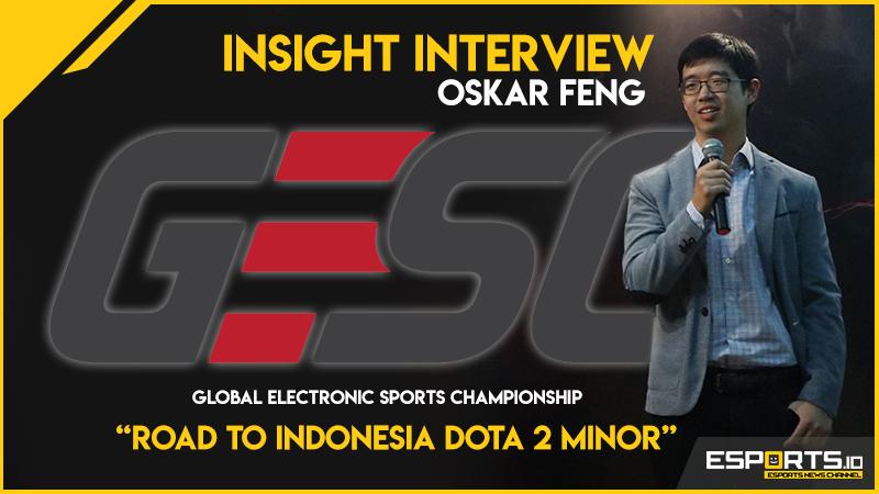 Oskar Feng Bicara Apresiasi, GESC Salut dengan Indonesia!
