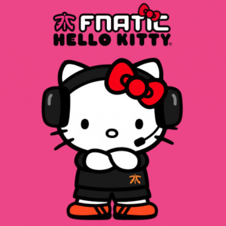 Kolaborasi dengan Fnatic, Hello Kitty Sambangi Esports