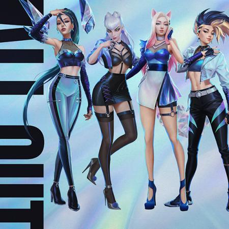 ALL OUT, Mini Album Terbaru Dari Grup Musik LOL K/DA!