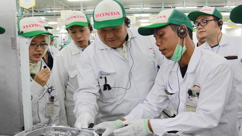 Esports di Pabrik! Honda Gelar Ekshibisi Gim untuk Karyawan