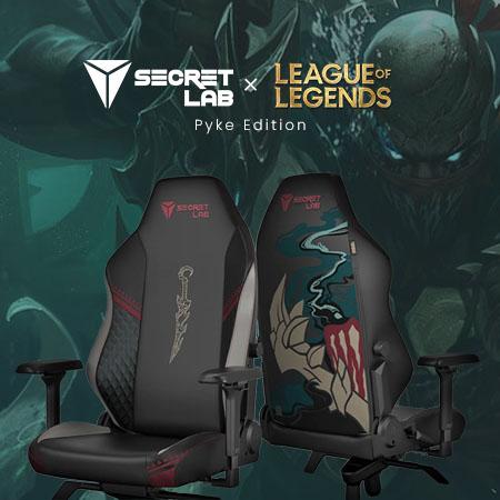[Review] Secretlab League of Legends Ruination, Kursi Singgasana Gamers!