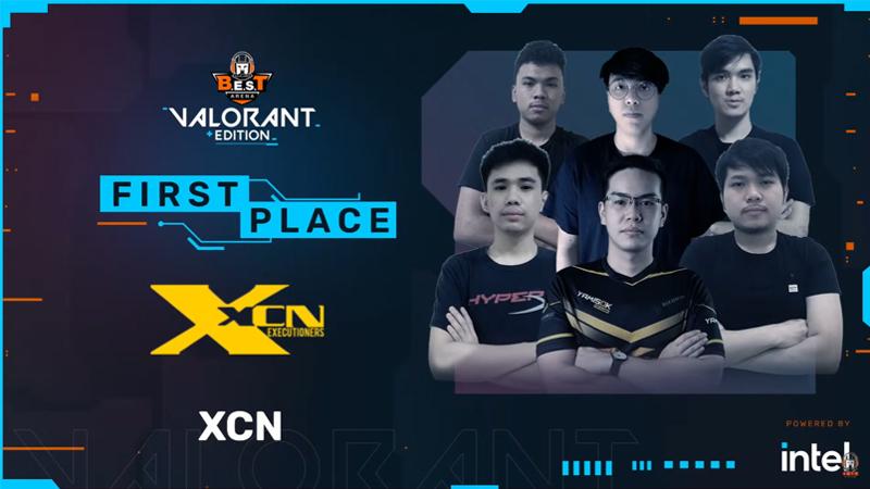 Tampil Sempurna, XCN Gaming Gondol Trophy B.E.S.T Arena Valorant Edition