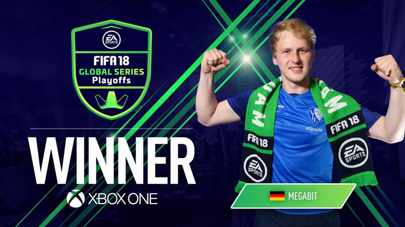 Lepas dari Kutukan, Megabit Juara FIFA 18 Global Series Playoffs Xbox One