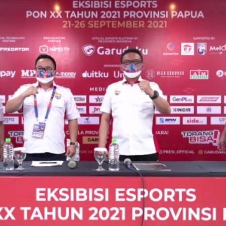 PBESI Jamin Keamanan Eksibisi Esports PON XX Papua