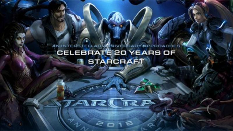 Perayaan 20 Tahun Starcraft, Blizzard Berikan Reward Lintas Franchise