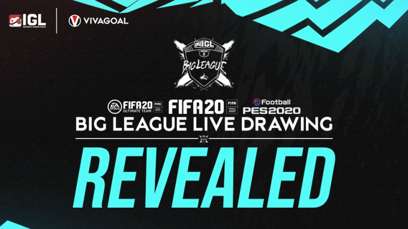 Rekap Hasil Drawing Big League & FUT CUP Indonesia Gaming League