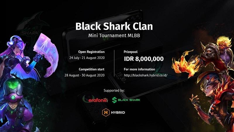 Resmi Meluncur, Black Shark Gelar Turnamen Amatir Mobile Legends