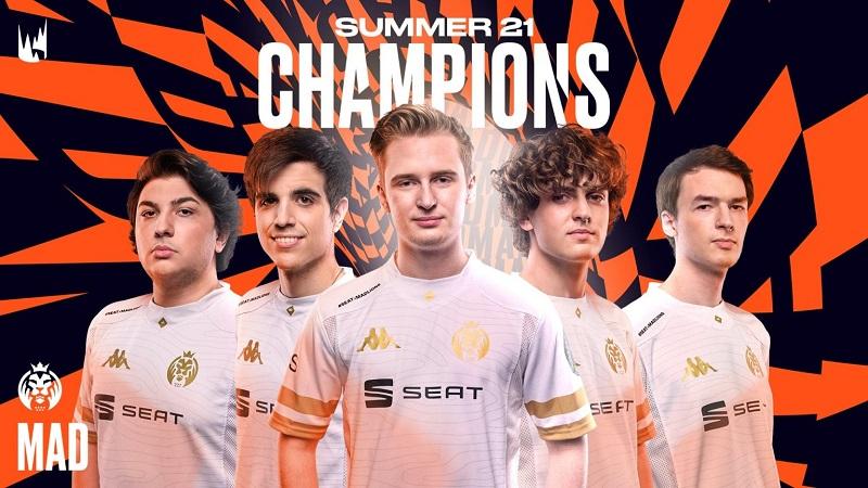 Tumbangkan Fnatic, MAD Lions Juarai LEC Summer 2021