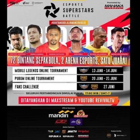 Mahaka Sport & APPI Ajak Pesepakbola Tarung ML & PUBGM