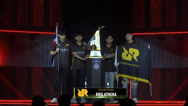 Thailand Borong Dua Slot Menuju PMCO Global Finals